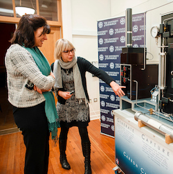Claire Perry visits UoE labs