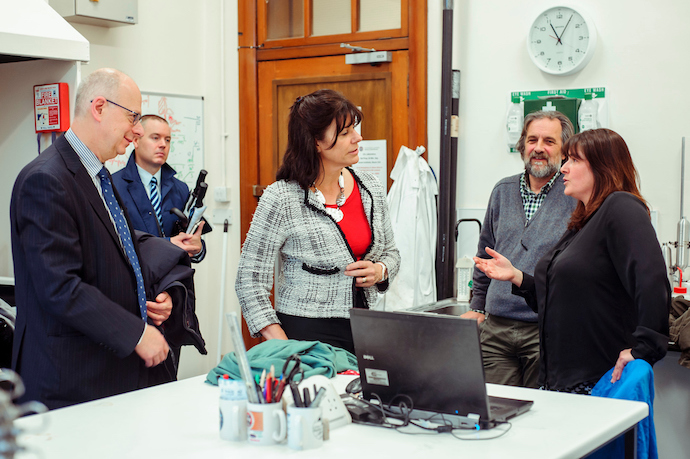 Claire Perry GeoSciences Visit 0037